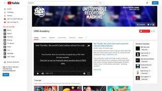 URM Academy - YouTube