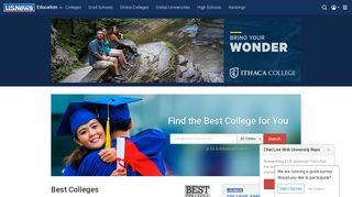 2019 Best Colleges   College Rankings and Data   US News Education