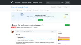 Create the login sequence diagram · Issue #41 · bounswe ... - GitHub