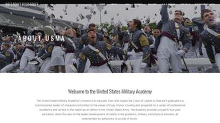 About The United States Military Academy at West ... - USMA Field Force