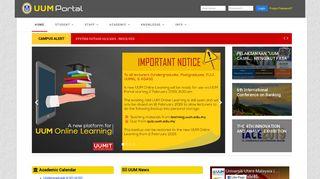 UUM Portal - Universiti Utara Malaysia