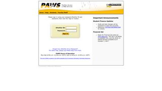 PAWS - Panther Access to Web Services - UWM