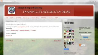 our web site www.vagdevieng.com - Vaagdevi College of Engineering ...