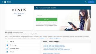 Venus Credit Card: Login, Bill Pay, Customer Service and Care Sign-In