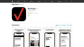 My Verizon on the App Store - iTunes - Apple