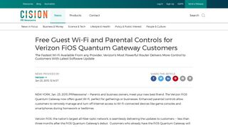 Free Guest Wi-Fi and Parental Controls for Verizon FiOS Quantum ...