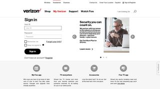 Pay Bill, See Offers with My Verizon Fios Login