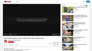 Video Traffic Academy - YouTube