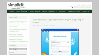How to delete Skype accounts from your Skype log-in screen ...