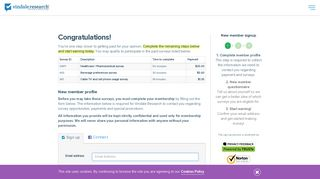Paid Online Surveys With Free Registration - Vindale Research