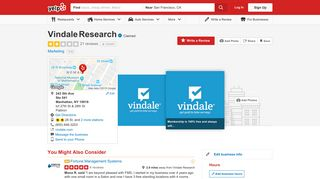 Vindale Research - 21 Reviews - Marketing - 243 5th Ave, Flatiron ...