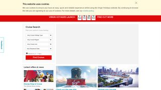 Virgin Holidays Cruises: Cruise Holidays, Packages and Deals 2019 ...