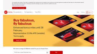 Credit Card offers   Balance, Money transfer ... - Virgin Money
