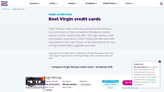 Virgin Money and Virgin Atlantic Credit Cards at MoneySupermarket