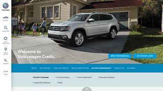 Account Management | Volkswagen