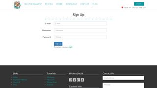 Sign Up | BullVPN - VPN Service Use the web anonymously, unblock ...