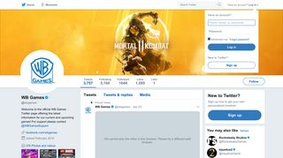 WB Games (@wbgames) | Twitter