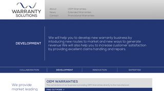 Warranty Solutions