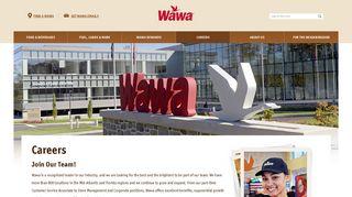 Wawa Job Opportunities: Join Wawa for a Fulfilling Career   Wawa