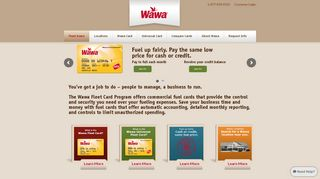 Wawa Fleet Card Program - Commercial Fuel Cards