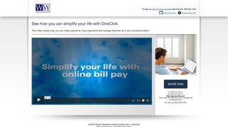 OneClick from Wayne Westland Federal Credit Union