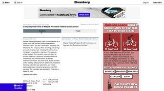 Wayne Westland Federal Credit Union: Private Company Information ...