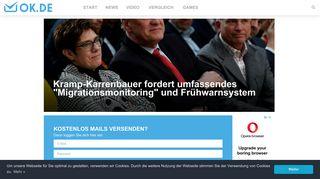 OK.de Freemail - Kostenlose E-Mail-Adresse