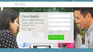 Take a free trail of WebEx Meeting Center - Take a free trial of WebEx ...