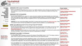 SquirrelMail - Webmail for Nuts!