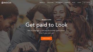 Become a Looker | WeGoLook