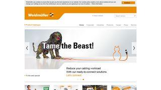 Weidmüller Corporate Website - Home