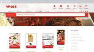 Weis Shopping | Weis Markets