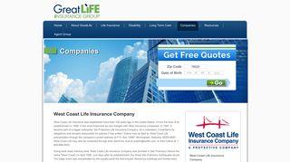 West Coast Life Insurance   Great Life Insurance Group