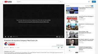 Protective Life Insurance Company/ West Coast Life - YouTube