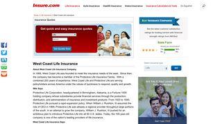 West Coast Life Insurance at Insure.com
