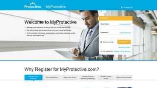 MyProtective: Home