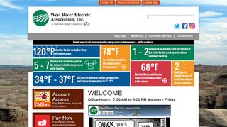 Welcome   West River Electric Association, Inc.