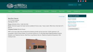 West River Telecom - Mobridge