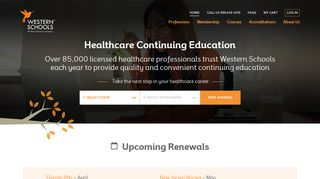 Western Schools: Continuing Education for Nurses, Dentists ...