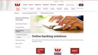 Business Online Banking - Westpac NZ