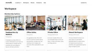 WeWork Pricing & Membership Plans | WeWork
