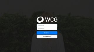 Login - WCG