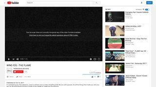 WIND F2G - THE FLAME - YouTube