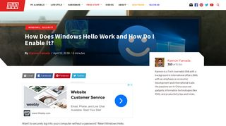 How Does Windows Hello Work and How Do I Enable It? - MakeUseOf