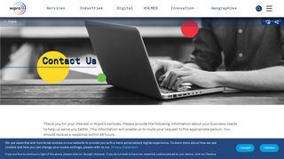 Contact us - Wipro