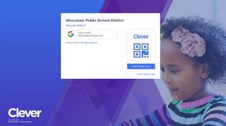Worcester Public School District - Log in to Clever
