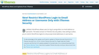New! Restrict WordPress Login to Email Address or Username Only ...