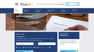 WorkBC - Jobs and Careers