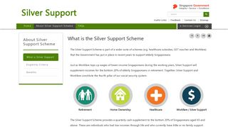 What is the Silver Support Scheme - Silver Support