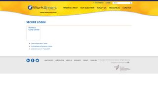 Secure Login | WorkSmart Systems is a Professional Employer ...